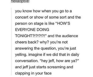 cheers, concert, and funny image