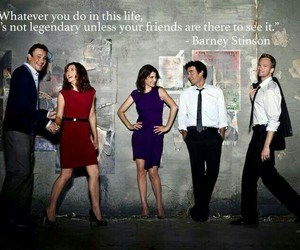 himym, how i met your mother, and Barney Stinson image
