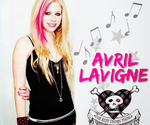 Avril Lavigne and the best damn thing image