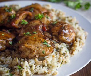 balsamic, Chicken, and poultry image
