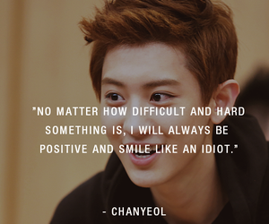 exo, quotes, and chanyeol image