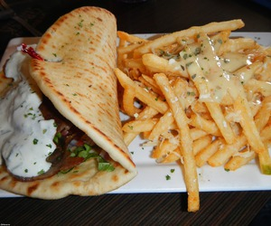 food and gyros image