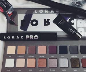 makeup, mua, and lorac image