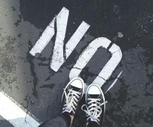 no, converse, and grunge image