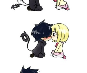 anime, kiss, and ao no exorcist image