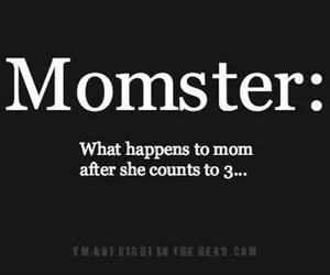 mom and monster image