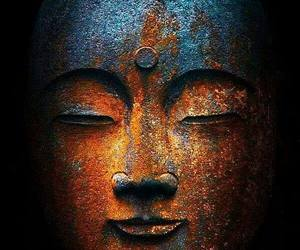 peace, good photography, and sculptured smile image