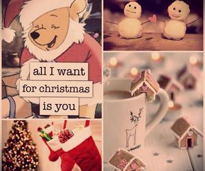 all i want for christmas, christmas love, and love image