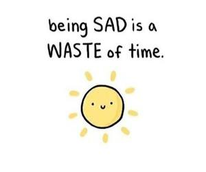 happy, sad, and sun image