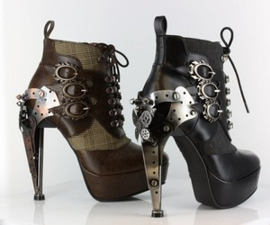 amazing shoes, high heels, and strampunk image