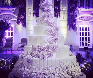 beautiful, cake, and white image