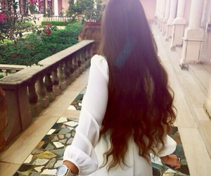 hair, couple, and long hair image