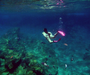 beautiful, sea, and diving image