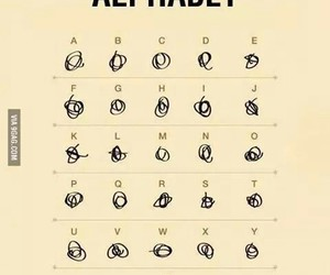 funny, alphabet, and medical image