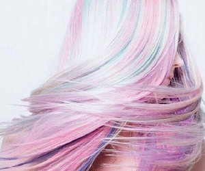 colorful, colorful hair, and hair image