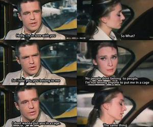 love, Breakfast at Tiffany's, and quote image