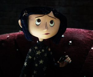 coraline, theme, and dark image