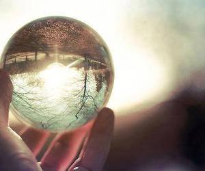 photography, ball, and nature image