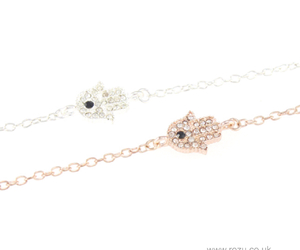 bracelet, dainty, and jewellery image