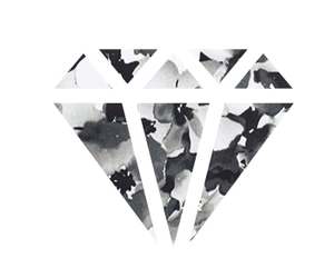 blackandwhite, background, and diamond image