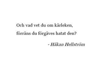 quote, håkan hellström, and citat image