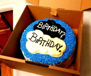 birthday cake, happy, and the fault in our stars image