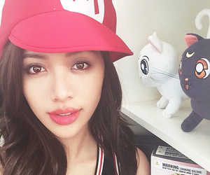 girl and michelle phan image