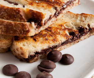 chocolate, food, and bread image