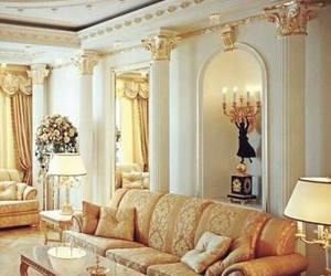 luxury, beautiful, and gold image