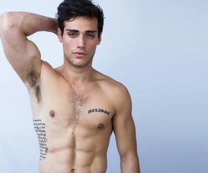 dude, abdomen, and Hot image