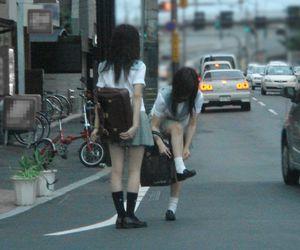 japan, girls, and japanese image