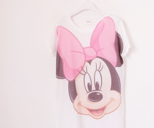 pink, disney, and minnie image