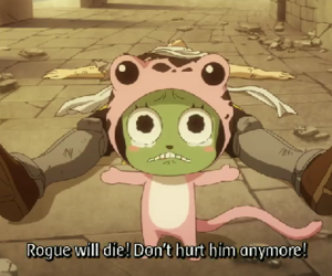 Rogue, fairy tail, and frosch image