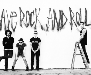 fall out boy, save rock and roll, and FOB image
