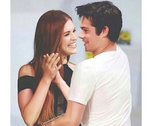 teen wolf, couple, and holland roden image