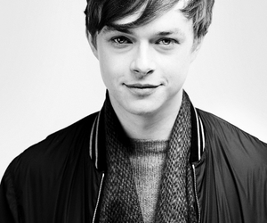 dane dehaan, black and white, and boy image