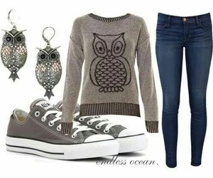 outfit, casual outfit, and denim outfit image
