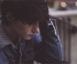 boy and sad image