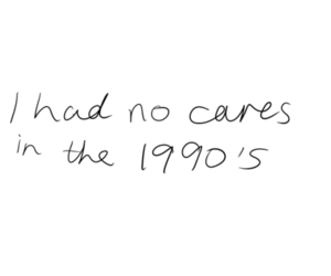 1990, care, and childhood image