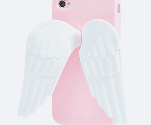 iphone, cute, and angel image