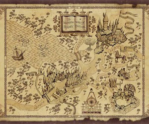 harry potter and map image