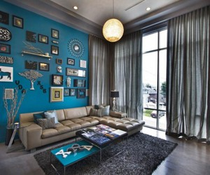 ikea, living room interior, and living room design image