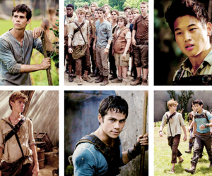 Minho, dylan o'brien, and newtmas image