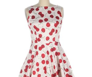 50s style and printed dress image