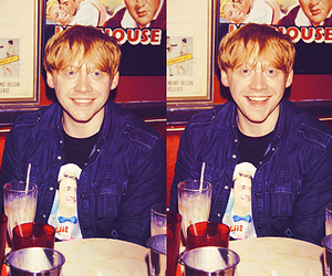 ginger, ron weasley, and rupert grint image