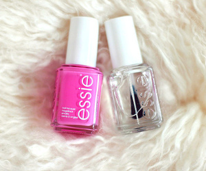 essie, pink, and nail polish image
