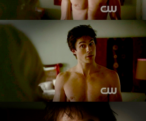 *-*, damon, and Hot image
