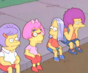 simpsons, grunge, and bart image