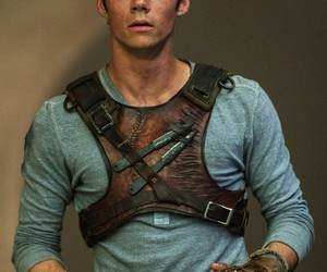dylan o'brien, thomas, and the maze runner image