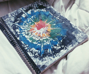 art, book, and colorful image